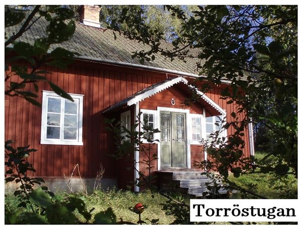 Torrö cottage Färnebofjärdens National park