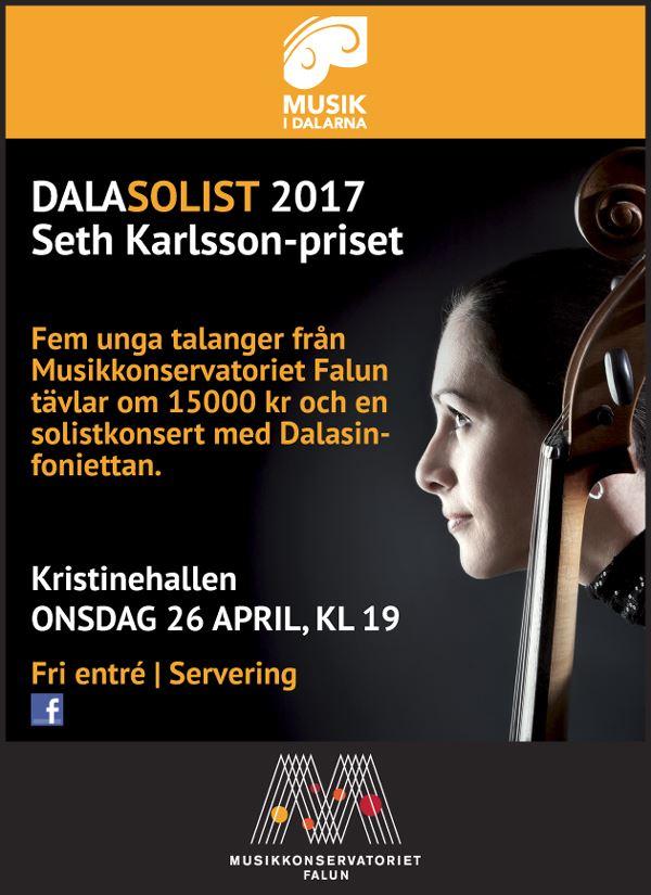 Dalasolist - Seth Karlsson-priset