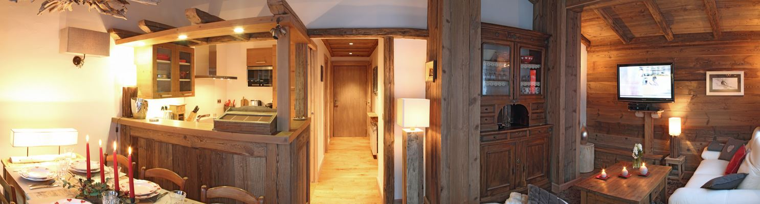 4 rooms 4 people / COEUR DE COURCHEVEL 3 (mountain of dream)