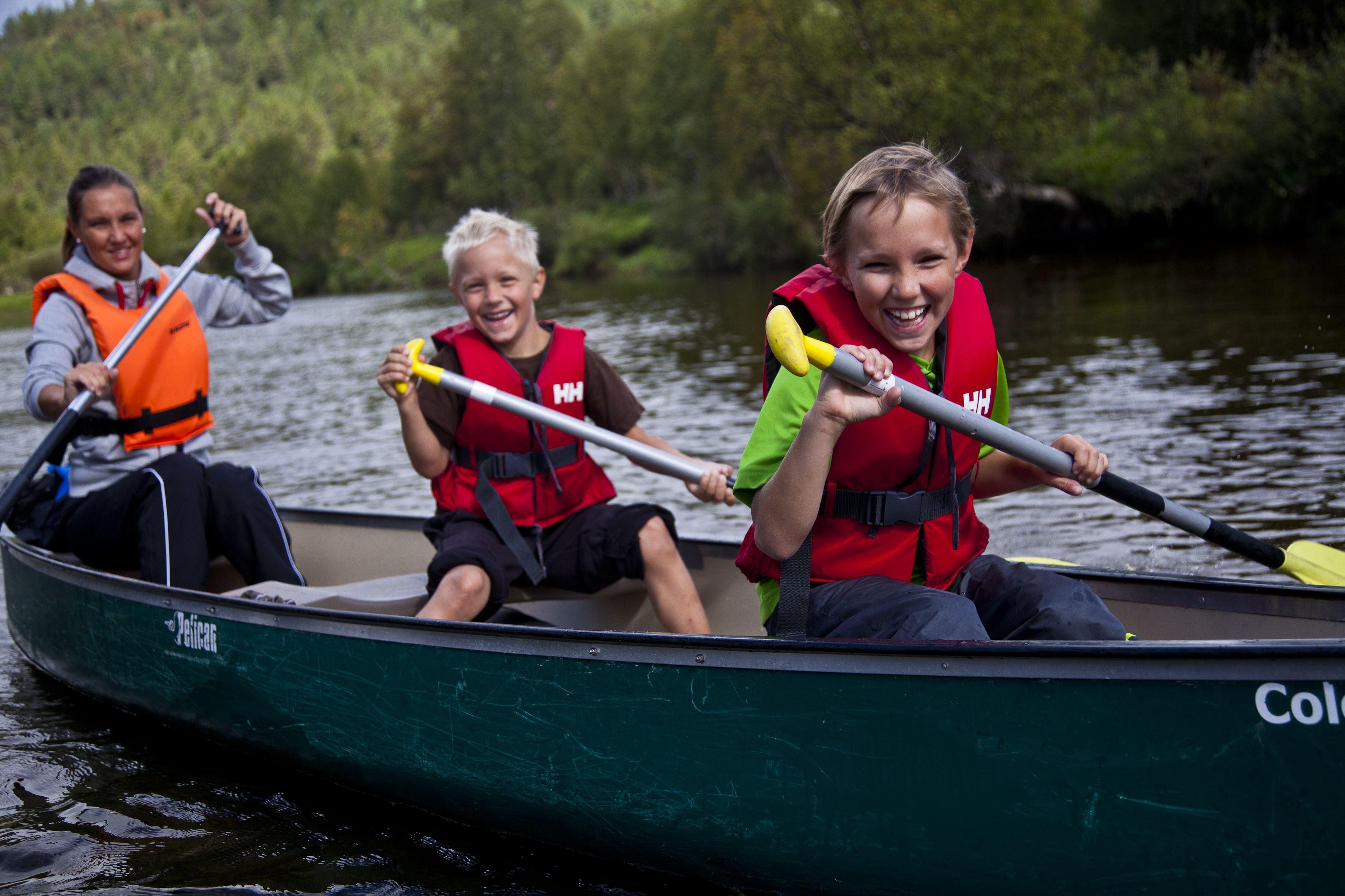 Canoe the Ljusnan