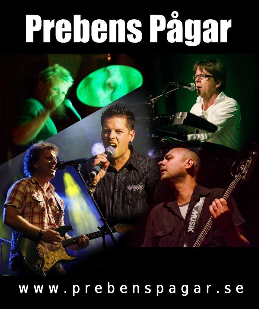 """Pub afton Final kväll med partybandet """"Prebens Pågar"""""""