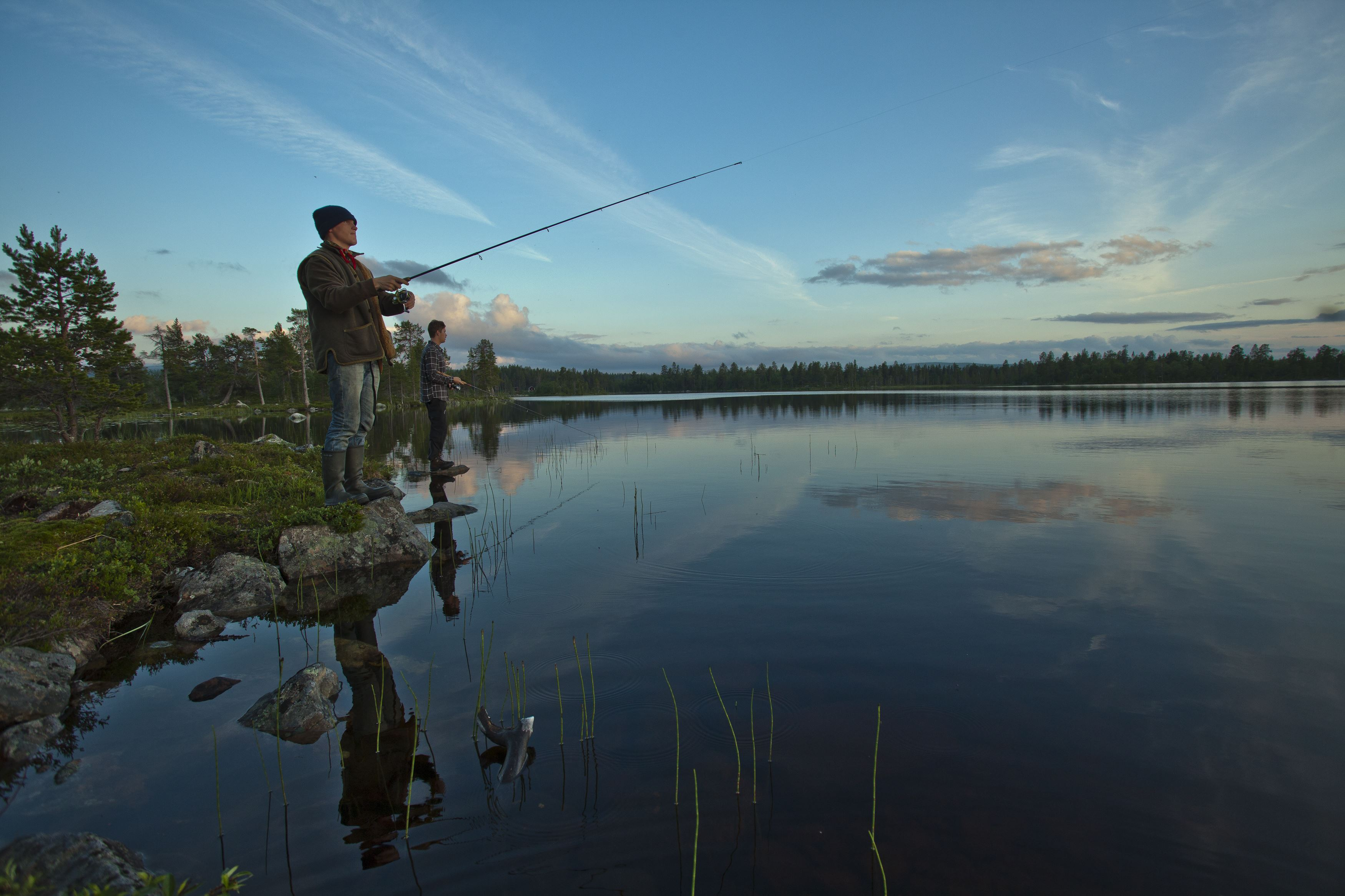 Sport fishing trial