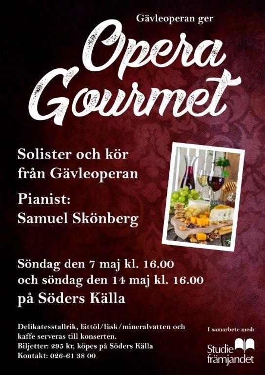 Gävleoperan - Opera Gourmet