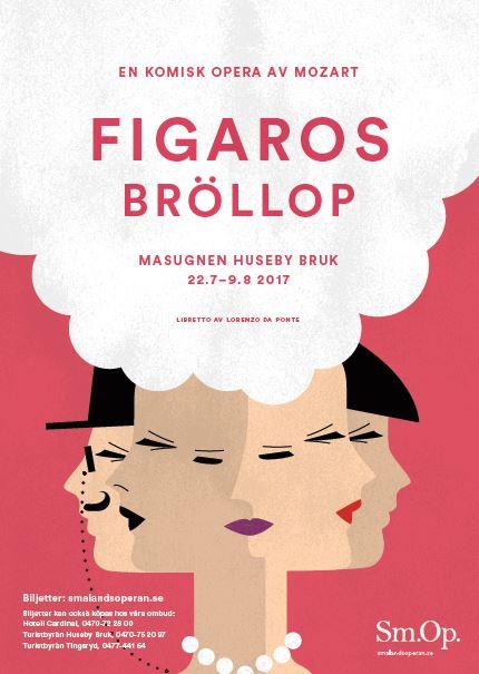Figaros bröllop - opera sommaren 2017