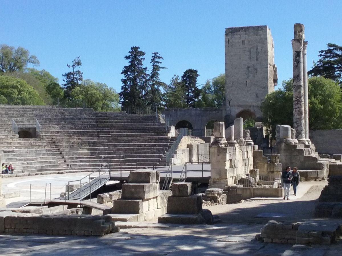 sites Romains et Van Gogh