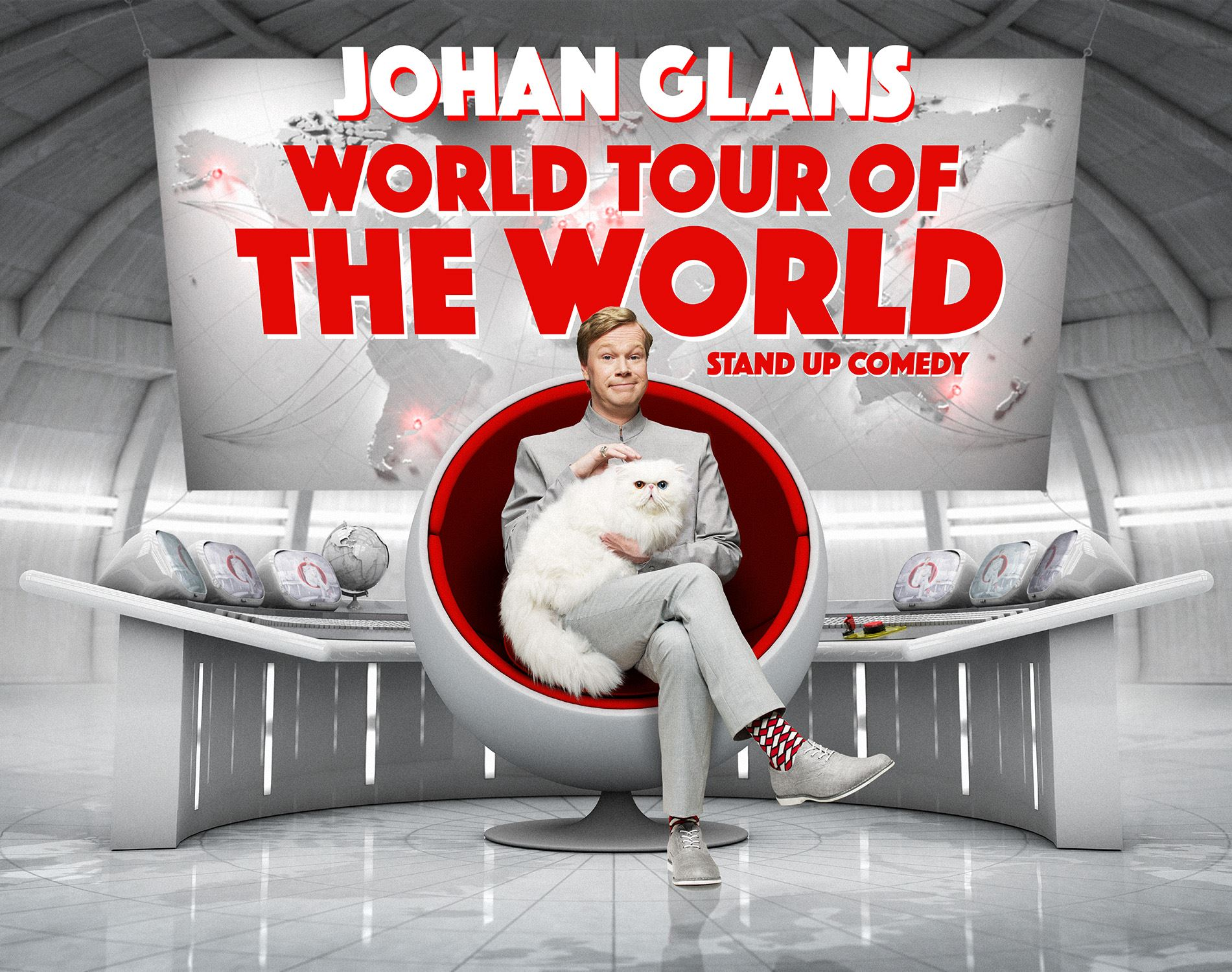 Johan Glans - World Tour Of The World