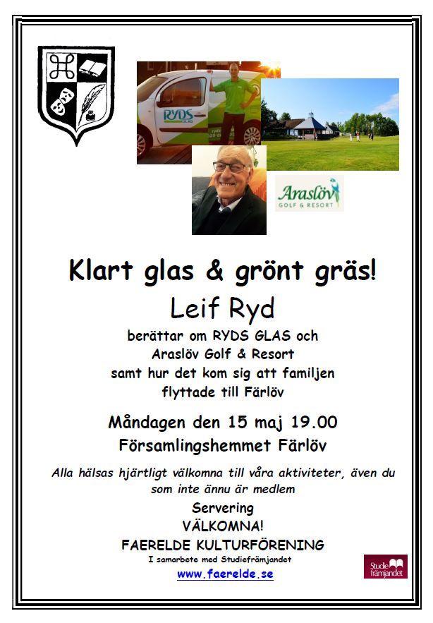 Klart glas & grönt gräs