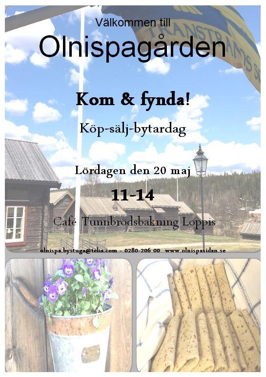 Köp-Sälj-Bytardag på Olnispagården i Sälen