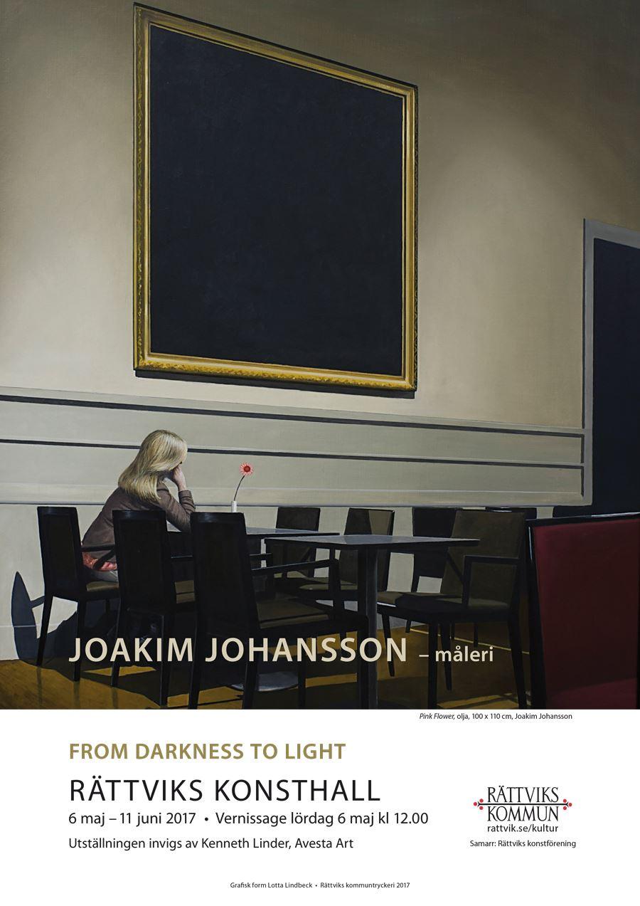 From mörker till ljus oljemåleri