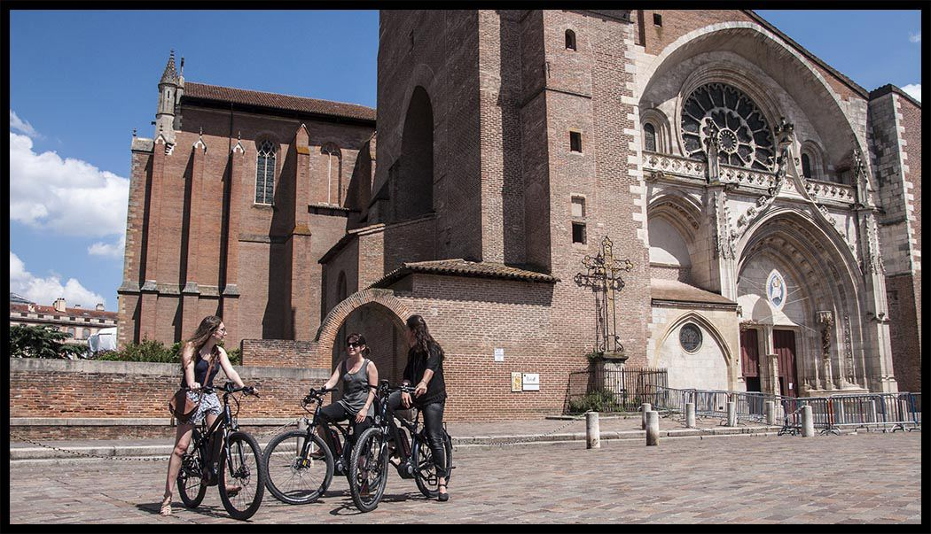 Discovering the heart of the pink city (bike size S)