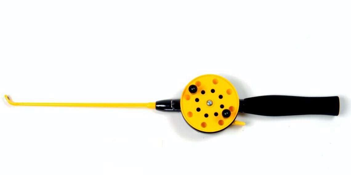 Ice fishing set, rod + ladle
