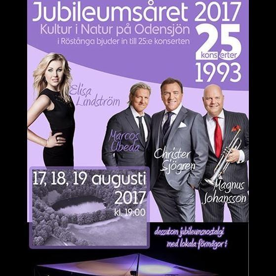 Odensjökonserten 25 år
