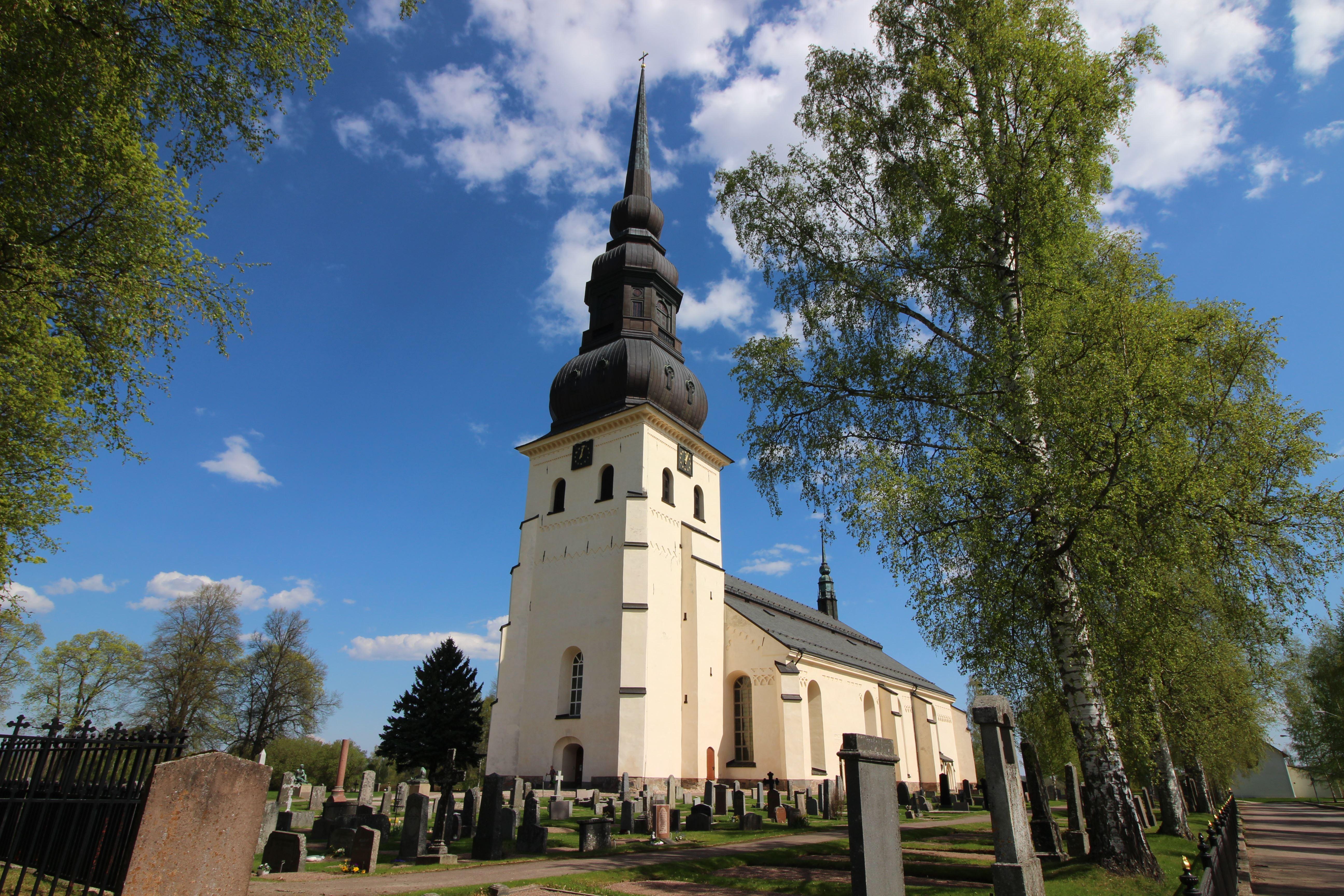 Visning av Stora Tuna kyrka
