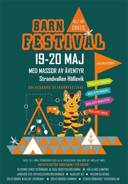 Barnfestival i Hällevik 19-20 maj