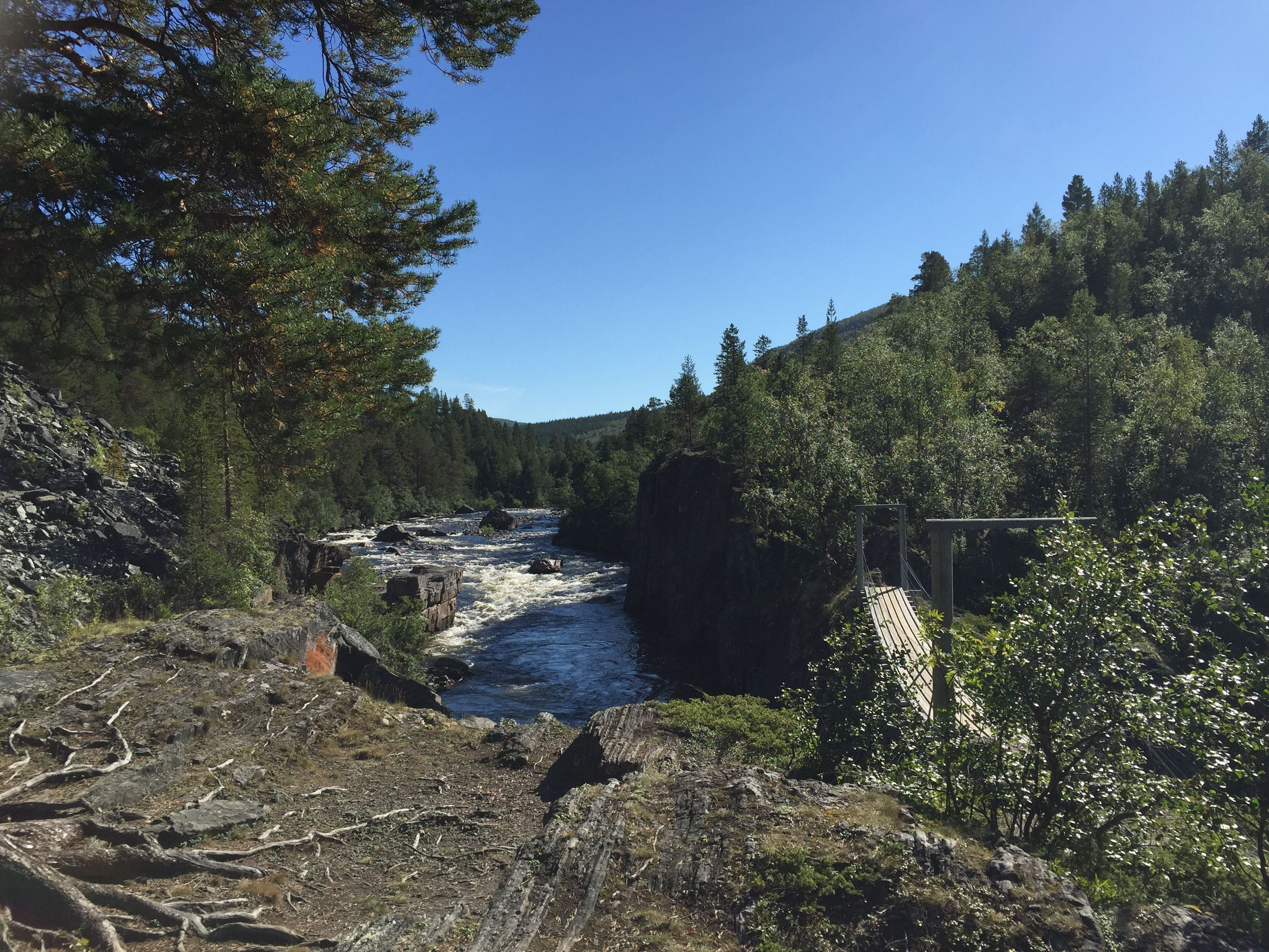 Guided tour to Imofossen