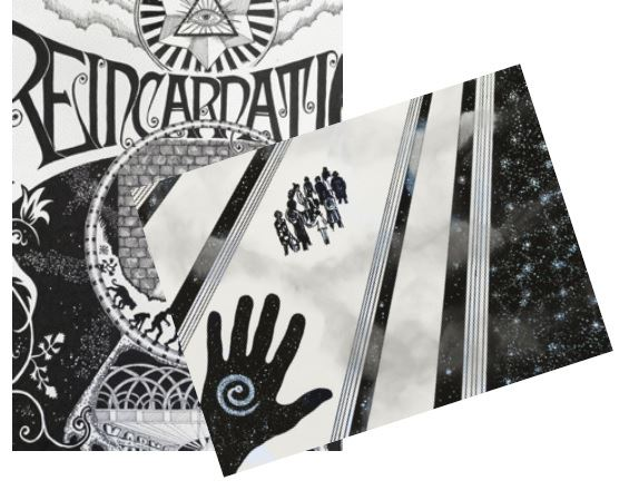 Utställning - Martinus, In Black & White