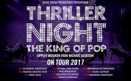 Thriller Night on tour