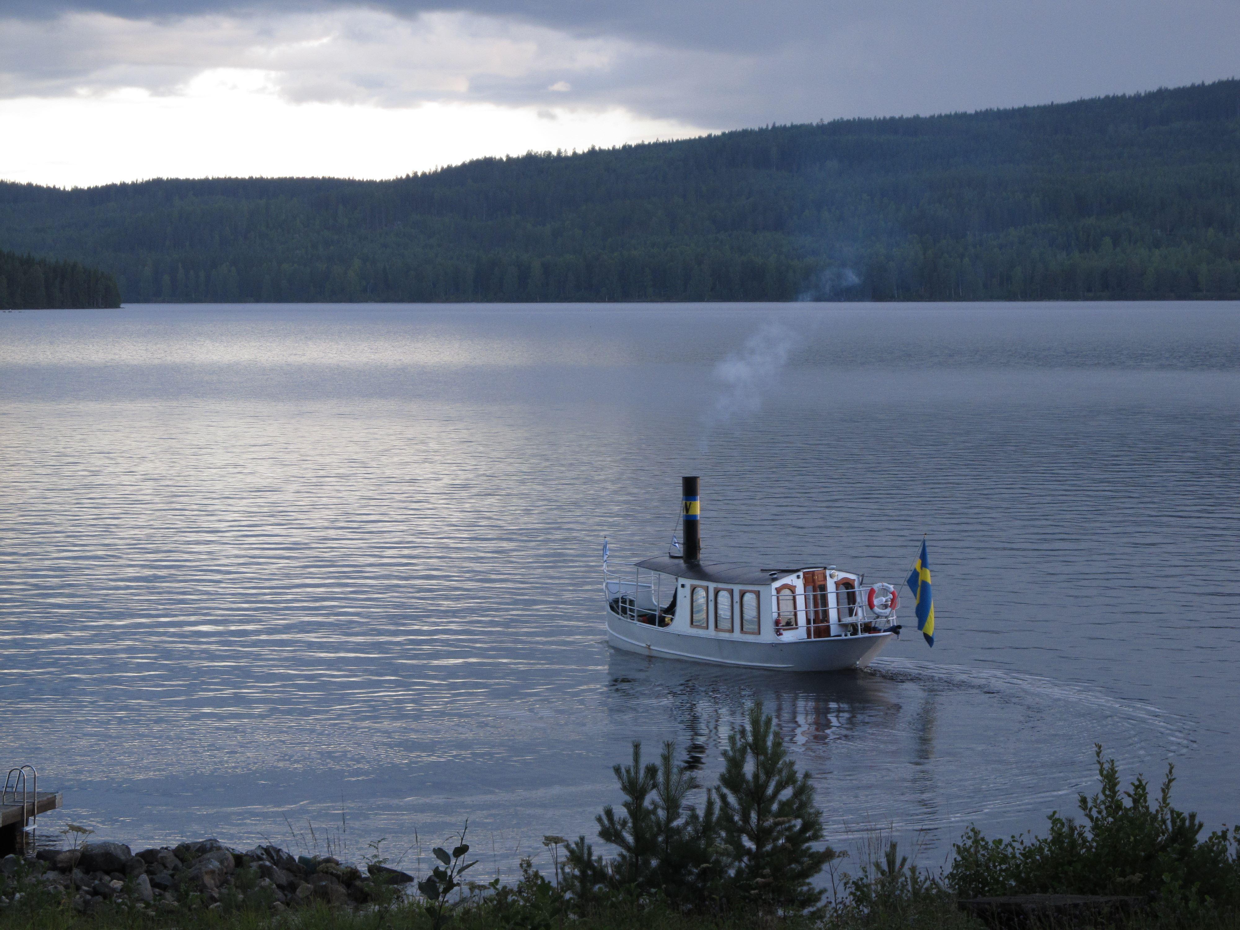 Ångbåtstur på vackra Väsman med S/S Wäsman