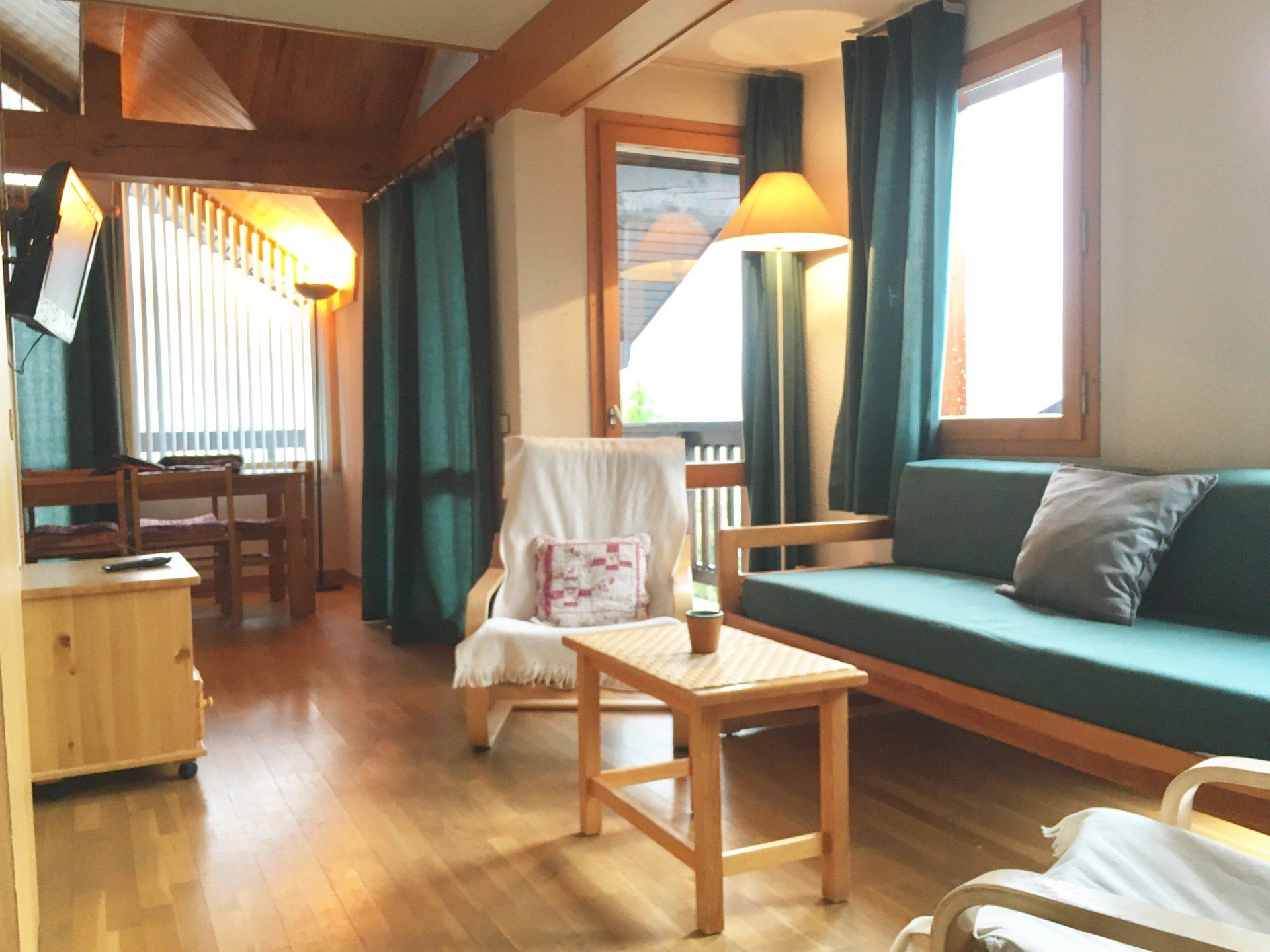 4 Rooms 6 Pers ski-in ski-out / HORS PISTE 21