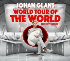 Johan Glans stand up show - World tour of the world