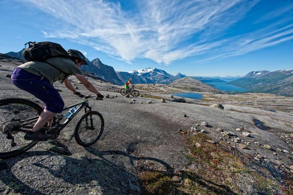 Mountainbiking in the Narvikregion