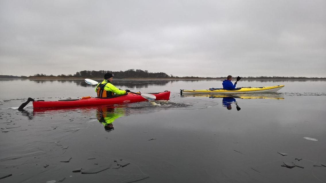 Kajakpaddling i Kristianstads Vattenrike