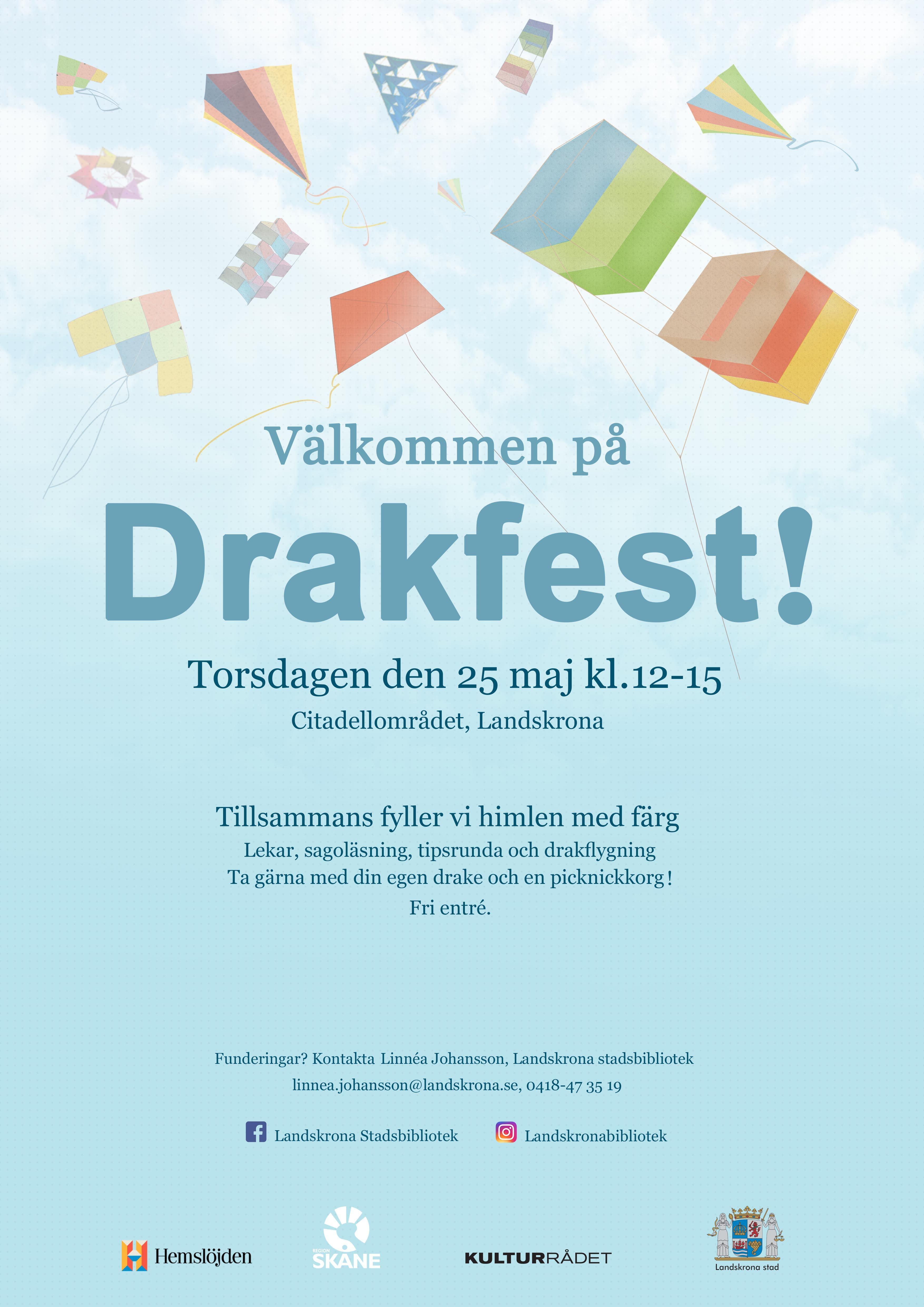 Landskronas första drakfest!
