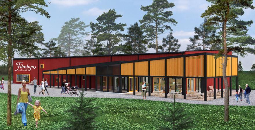 Invigning av Filmbyn Småland