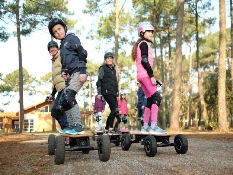 iZi Rider : Initiation et Balade en skate éléctrique à Labenne ( 20 mn de Biarritz en voiture)