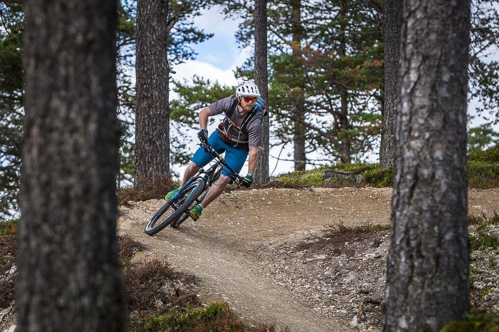 Cyklings aktiviteter på Idre Fjäll