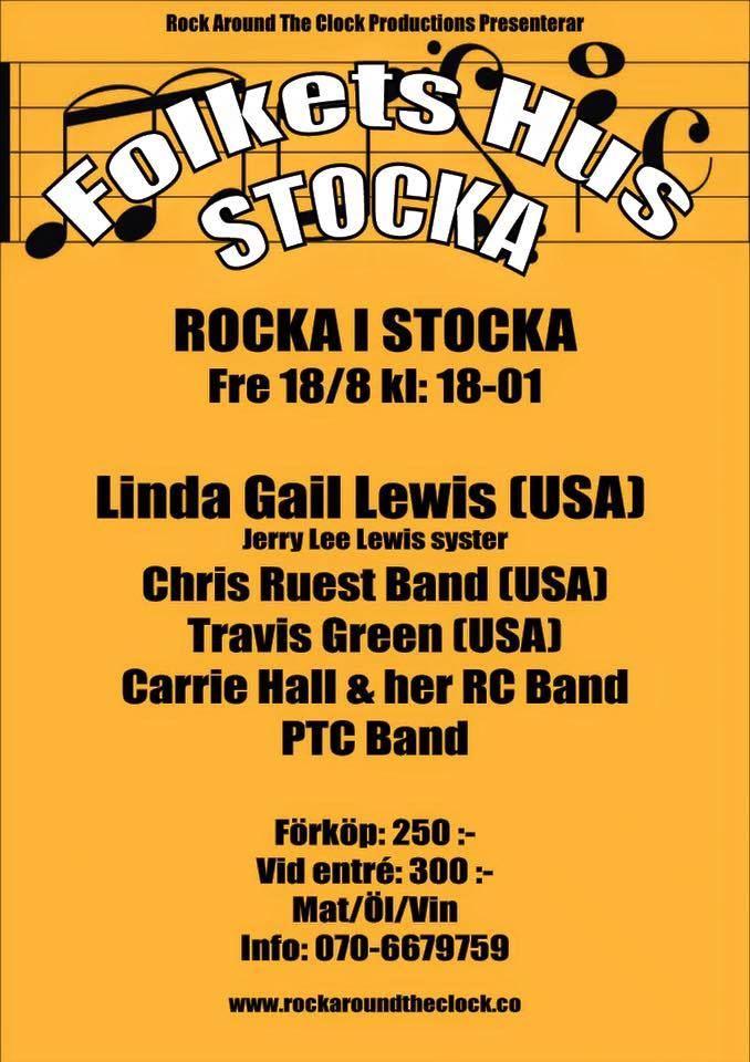 Rock´n Roll in Stocka - Linda Gail Lewis & co
