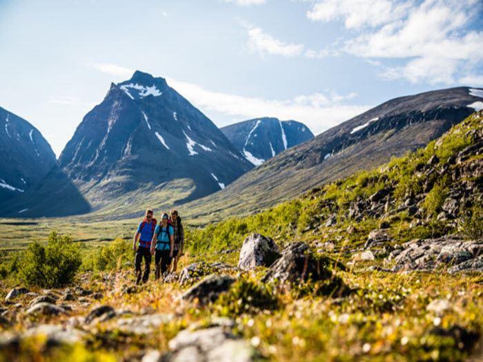 Kebnekaise - Vandring till Kraterberget