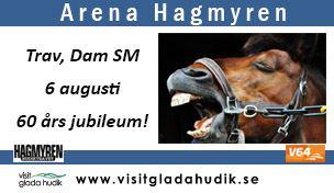 Hagmyren 6 augusti Dam SM med V64 och 60-års jubileum!