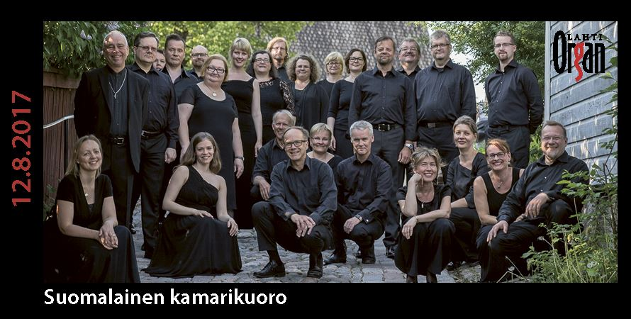 Organ & Finnish Chamber Choir 12 Aug 2017 at 7pm | Lahti International Organ Festival