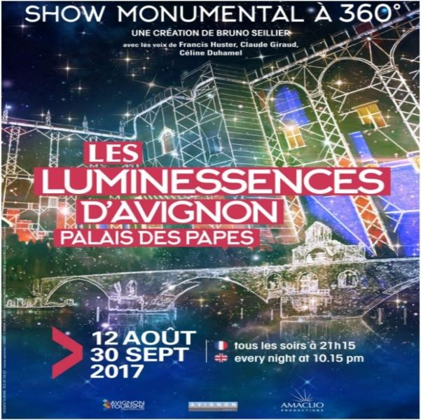 Les luminessences d'Avignon