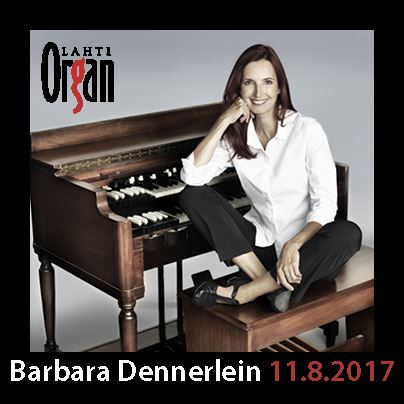 Barbara Dennerlein 11 Aug 2017 at 7pm | Lahti International Organ Festival