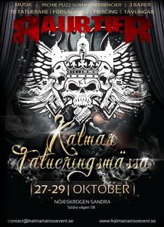 Kalmar tatueringsmässa 2017
