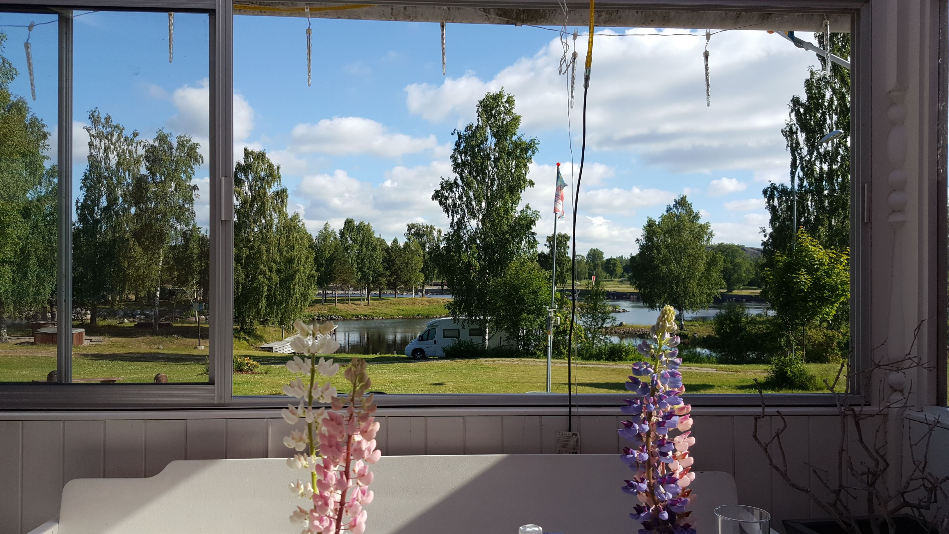 Restaurant by Ljusnefors Camping Ground