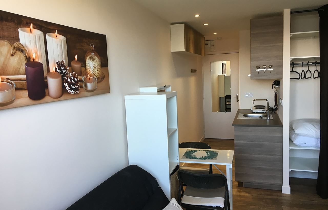 Studio 2 people / PORTE DE COURCHEVEL A502 (mountain)