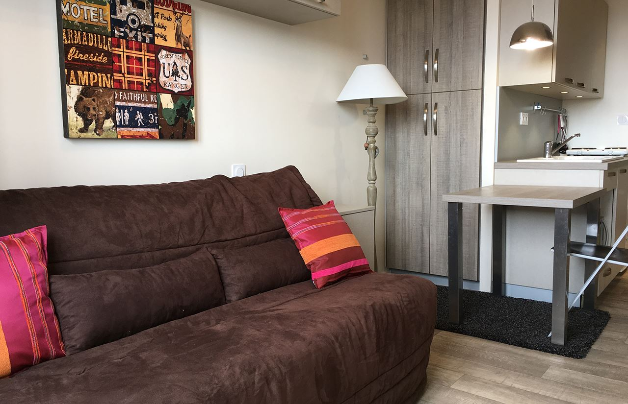 Studio 2 people / PORTE DE COURCHEVEL A507 (mountain)