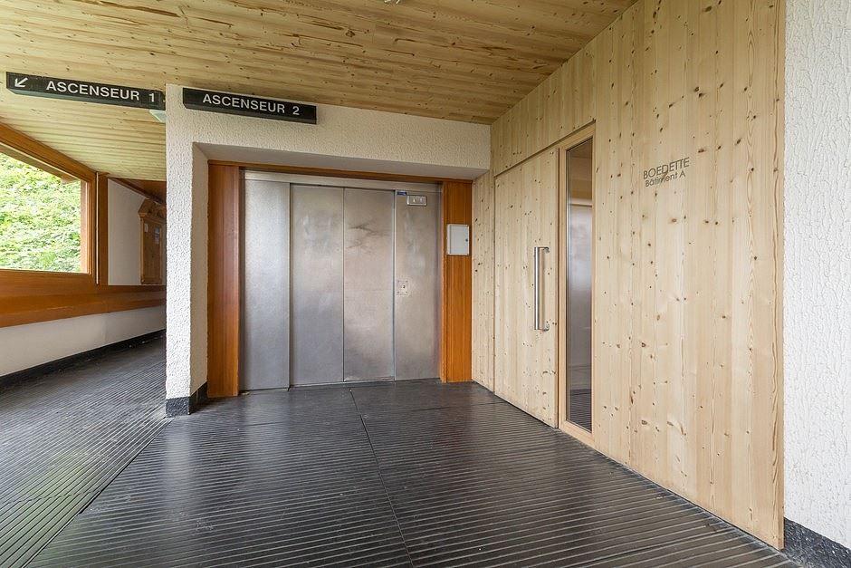 Studio 4 Pers skis aux pieds / BOEDETTE A 313