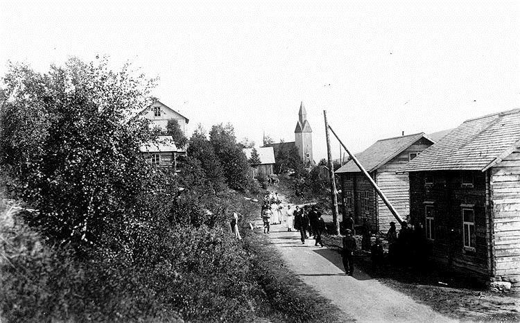 Historiepromenad i Tärnaby