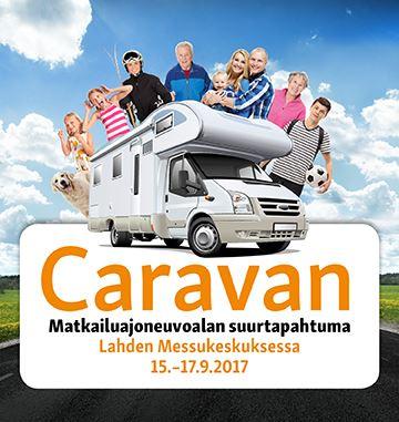 Caravan 2017 -messut 15.-17.9.2017