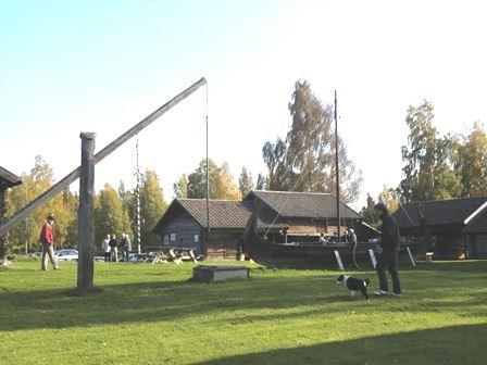 Soldmålsdag på Sollerö hembygdsgård