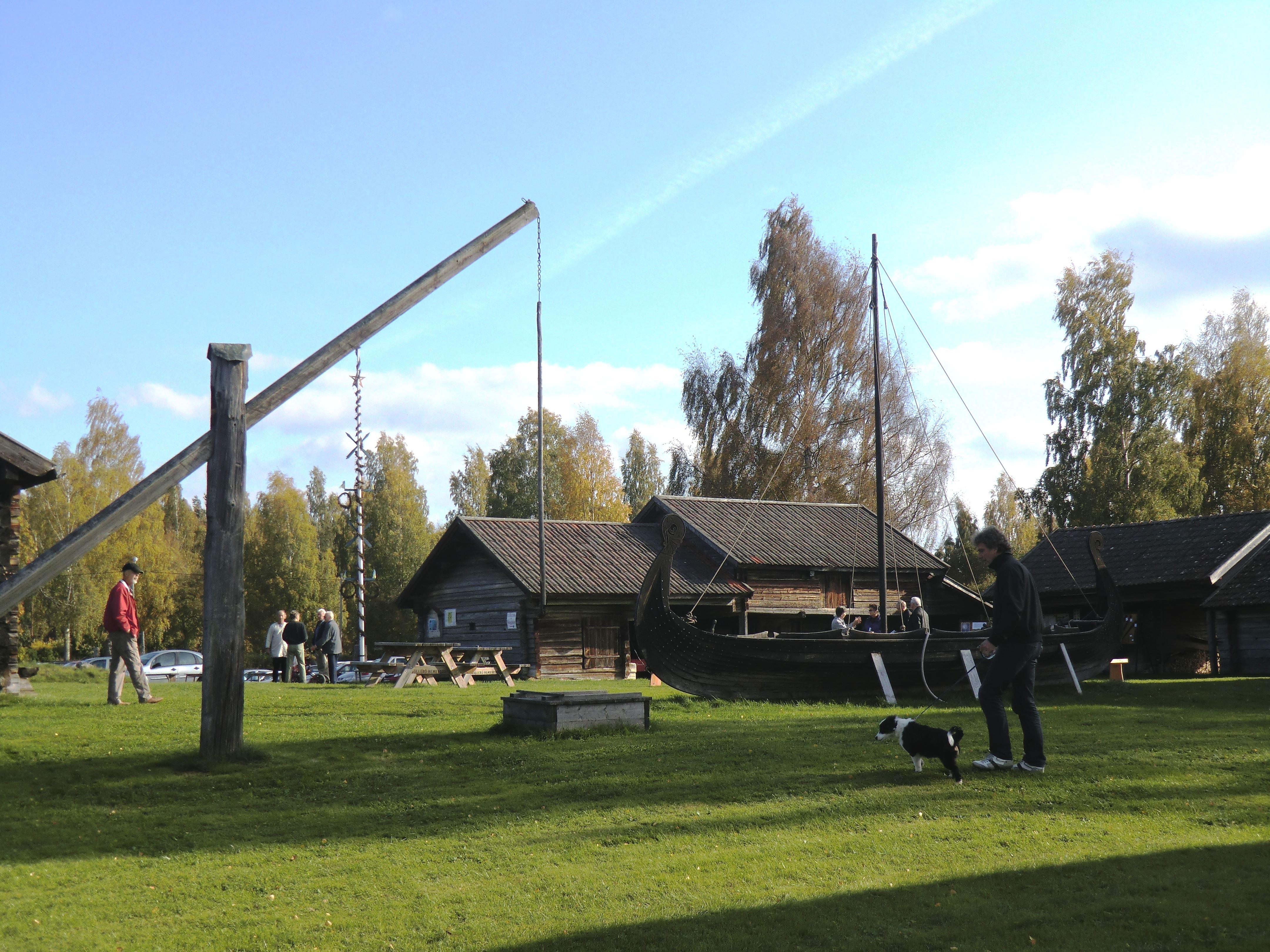 Hantverksdag på Sollerö hembygdsgård