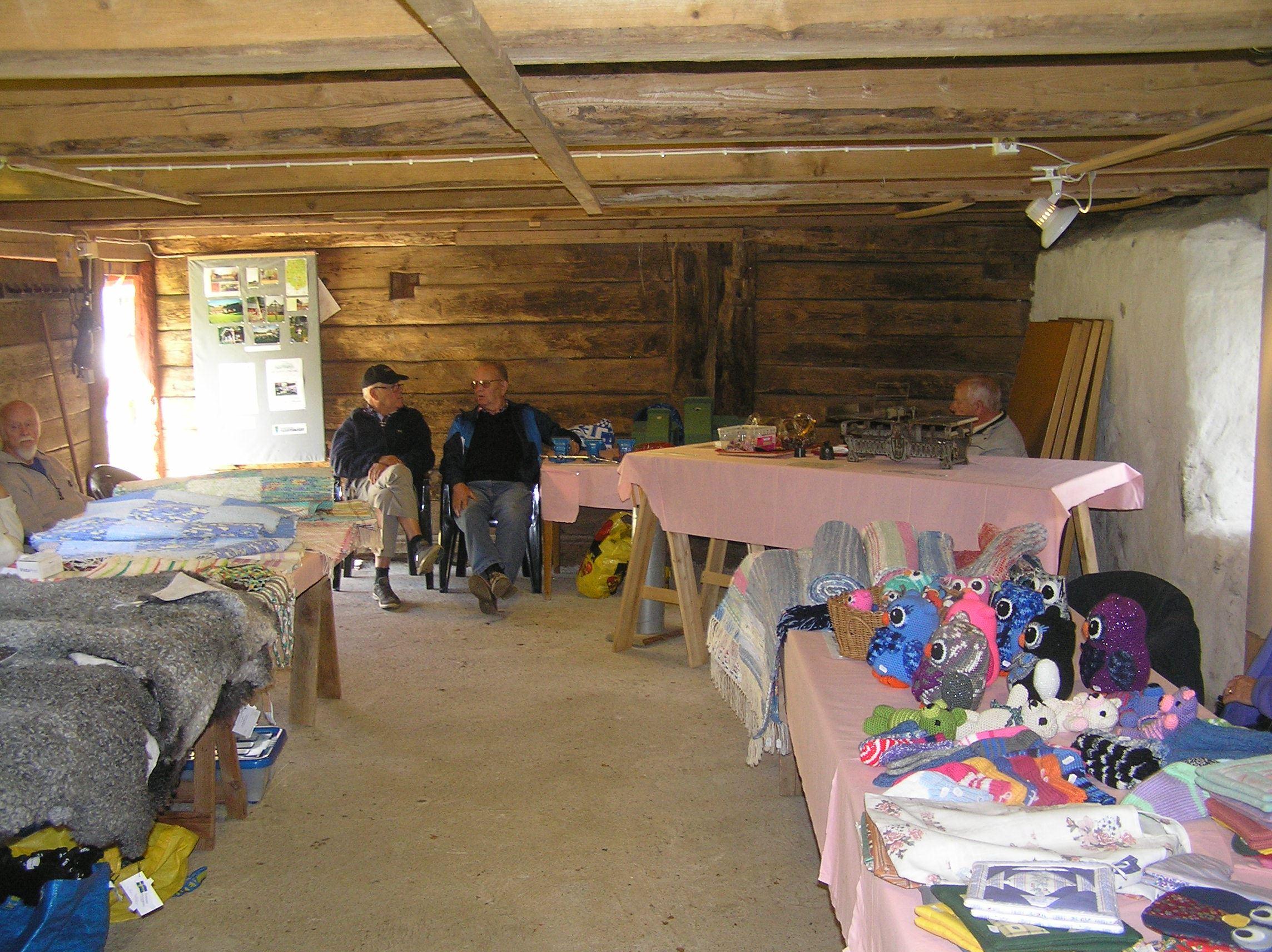 Hembygdsdag i hembygdsgården i Lilla Tockarp