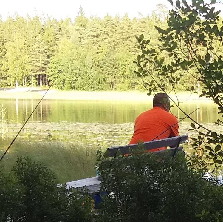 Hjärtasjön fishing