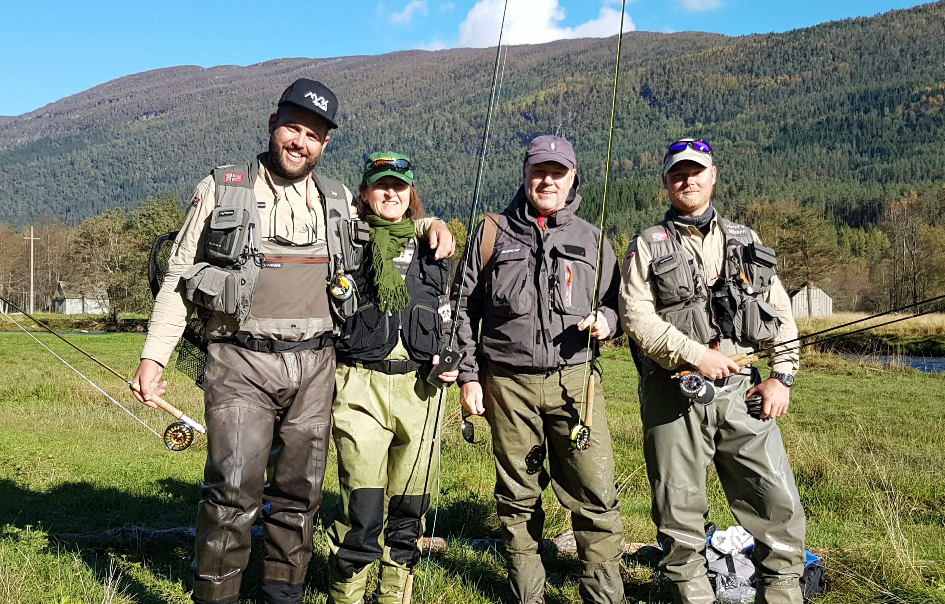 Fly fishing weekend