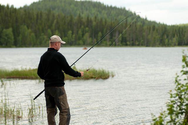 Dynamedia,  © Malå kommun, Fiskepremiär i Laggträsket