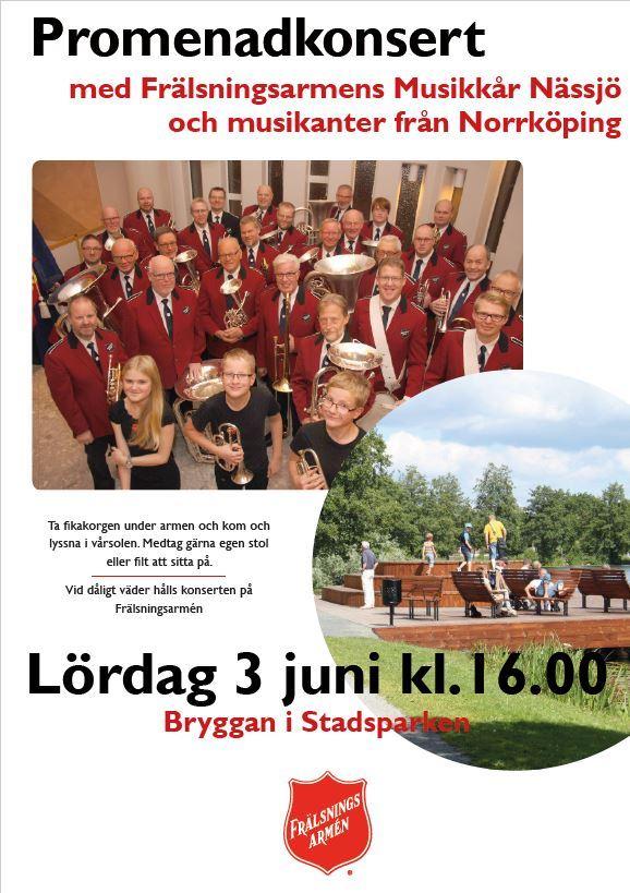 Promenadkonsert Frälsningsarméns Musikkår
